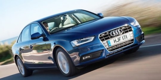 New Audi A4 Saloon