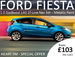 Ford Fiesta - Special Offer - As per Heart FM