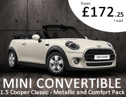 Mini Convertible - Special Offer