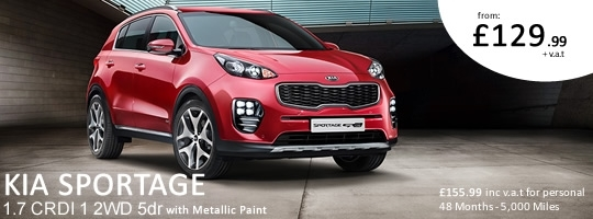 Kia Sportage - Special Offer