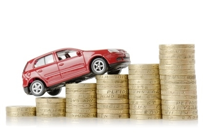 Picture depicting vehicle depreciation