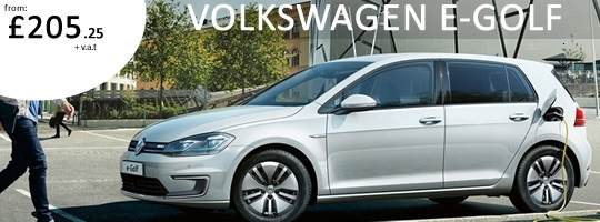 VW E-Golf - Special Offer