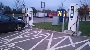 Nissan Leaf Motorway Charging