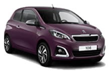 Peugeot 108 Library Picture
