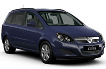Vauxhall Zafira Library Picture