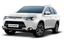 Mitsubishi Outlander PHEV Library Picture