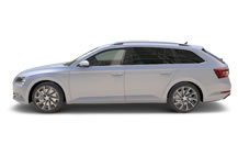Skoda Superb Library Picture